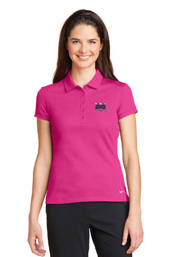 Nike Golf Ladies Dri-FIT Solid Icon Pique Modern Fit Polo