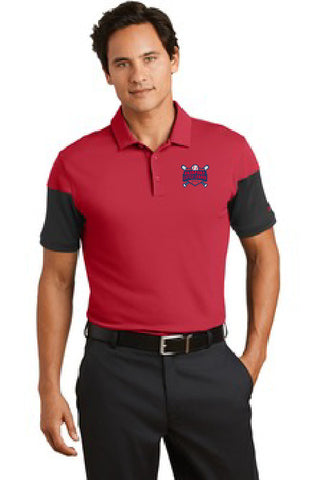 Nike Golf Dri-FIT Sleeve Colorblock Modern Fit Polo