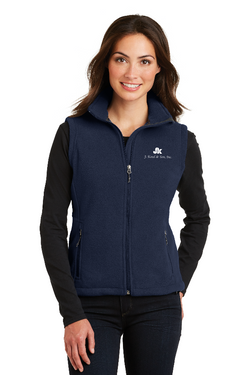 LA2 - Ladies' Port Authority® Fleece Vest