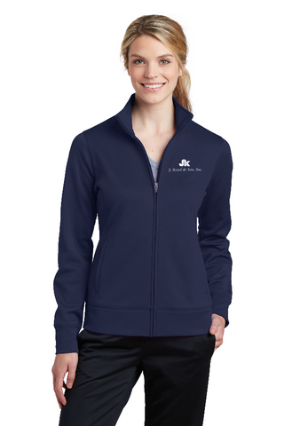 LB4 - Ladies' Sport-Tek® Sport-Wick® Fleece Full-Zip Jacket