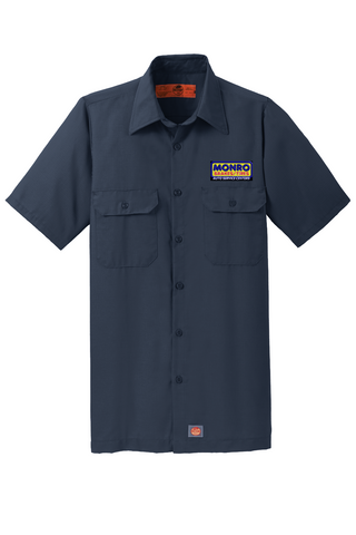 Monro Brake Manager/Counter Shirt - Red Kap® Short Sleeve Solid Ripstop Shirt