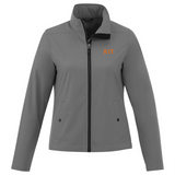Karmine Ladies Softshell Jacket (Black or Grey)