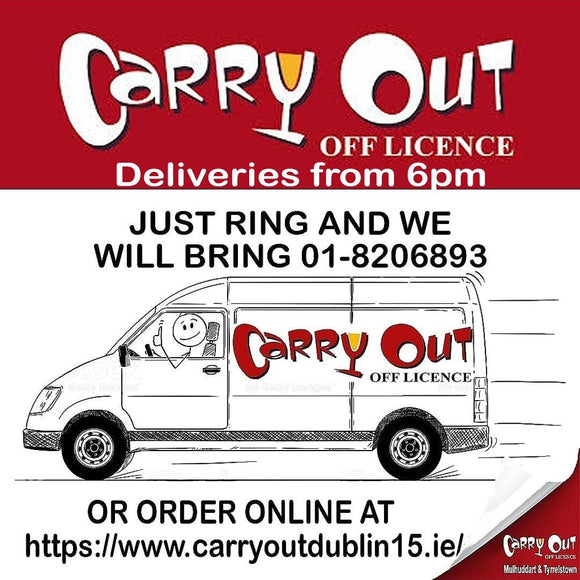 Dublin 15 Home Delivery - (Same Day Delivery) - CarryOut Mulhuddart