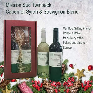 Mission Sud Twinpack - Cabernet Syrah & Sauvignon Blanc (2 x 750ml) - CarryOut Mulhuddart -  - Mission Sud Twinpack - Cabernet Syrah & Sauvignon Blanc (2 x 750ml) - gift, National Delivery, Wine Set - Gift -Carry Out Mulhuddart - Dublin Beer Delivery - Dublin 15 Off Licence - Mulhuddart