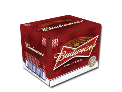 Budweiser 20 Pack - CarryOut Mulhuddart -  - Budweiser 20 Pack - Beer, Home Delivery -  -Carry Out Mulhuddart - Dublin Beer Delivery - Dublin 15 Off Licence - Mulhuddart