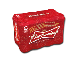 Budweiser 8 Pack carry out off licence tyrrelstown mulhuddart