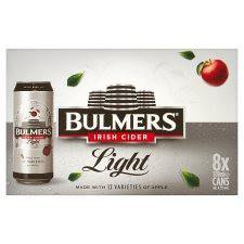 Bulmers Light Can 8 Pack for €12.99 - CarryOut Mulhuddart -  - Bulmers Light Can 8 Pack for €12.99 - Cider, Home Delivery -  -Carry Out Mulhuddart - Dublin Beer Delivery - Dublin 15 Off Licence - Mulhuddart
