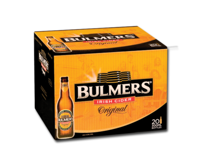 Bulmers 20 Pack - CarryOut Mulhuddart -  - Bulmers 20 Pack - Cider, Home Delivery -  -Carry Out Mulhuddart - Dublin Beer Delivery - Dublin 15 Off Licence - Mulhuddart