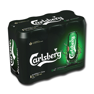 Carlsberg 500ml 8 pack ABV: 4.3% carry out off licence tyrrelstown mulhuddart