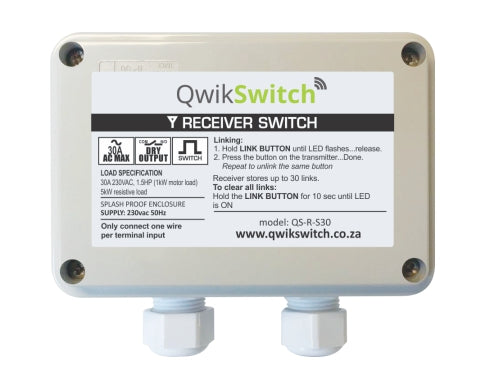 QwikSwitch 30A Relay Boxed (QS-R-S30)