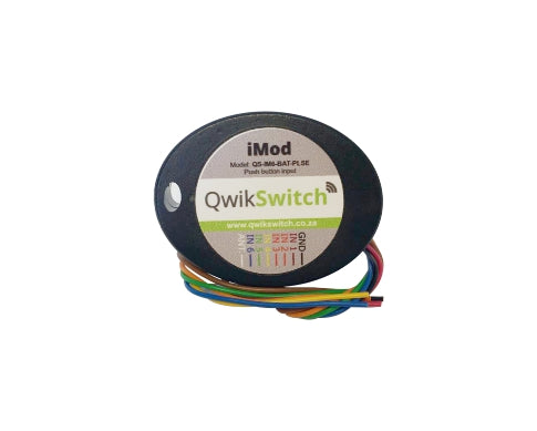 QwikSwitch 6 switch - pulse (QS-IM6-BAT-PLSE)
