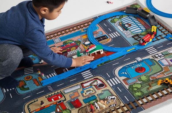kids road carpet rug 1