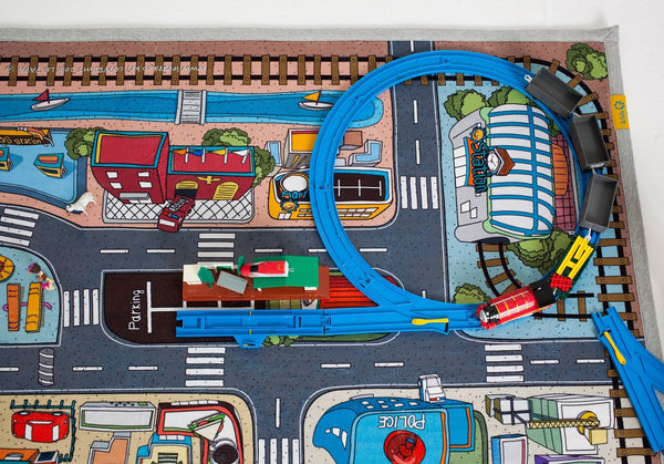 creative kids road carpet rug