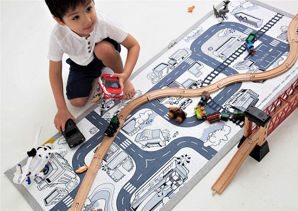 Mono Kids Road Rug Play mat 01