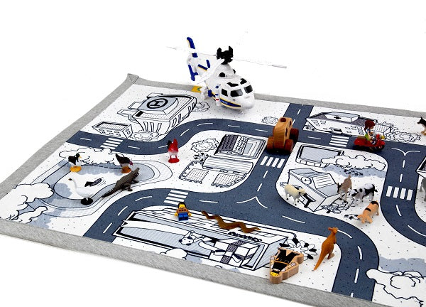 Mono Kids Road Rug Play mat 03