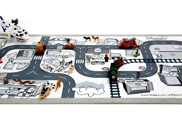 Mono Kids Road Rug Play mat 06