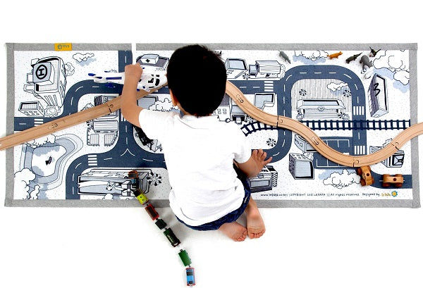 Mono Kids Road Rug Play mat 07