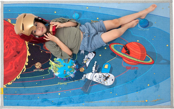 kids space learning rug