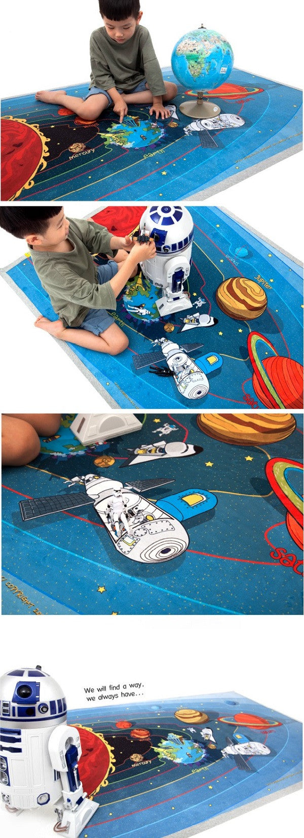 universe playmat kids spade learning carpet