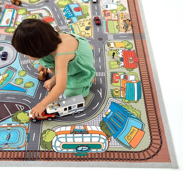 eco friendly kids rug