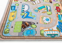 "79"" x 55"" Kids' Rug, Car Village Play mat"