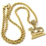 Pendant Gold Plated 100 24 Inch