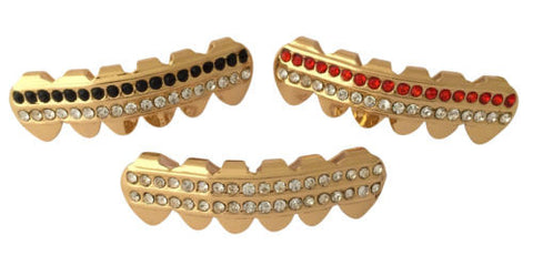 Grillz Gold Plated Lower Bottom Teeth 3PCs (Limited Offer)