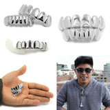 High Quality Silver Plated Grillz Set