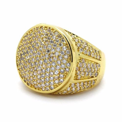 Hip hop Gold Ring