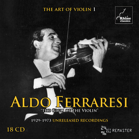 RH-001 | 18CD | Aldo Ferraresi - complete recordings 1929-1973