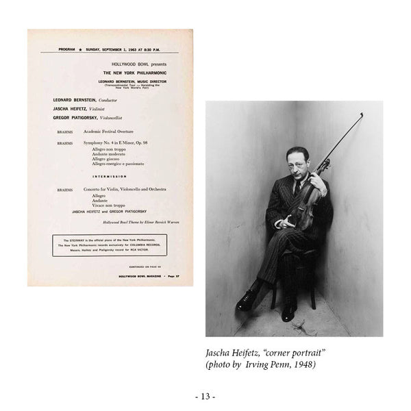 RH-004 | 2CD | JASCHA HEIFETZ - legendary Los Angeles concerts