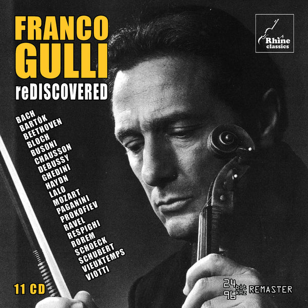 RH-005 | 11CD | Franco Gulli - reDiscovered