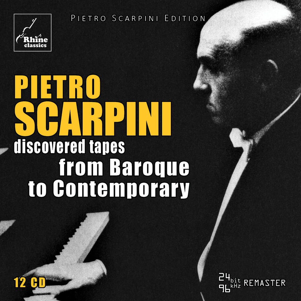RH-010 | 12CD | Pietro Scarpini -2- from Baroque to Contemporary