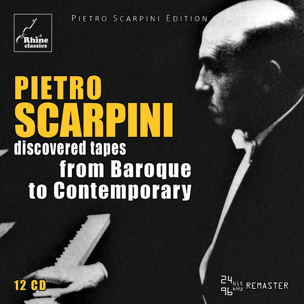 RH-010 | 12CD | PIETRO SCARPINI - from Baroque to Contemporary