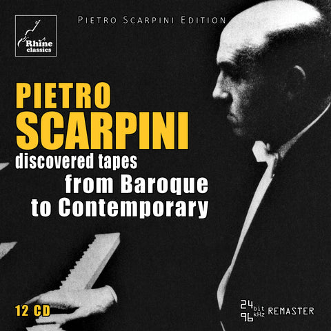 RH-010 | 12CD | Pietro Scarpini Edition -2- from Baroque to Contemporary