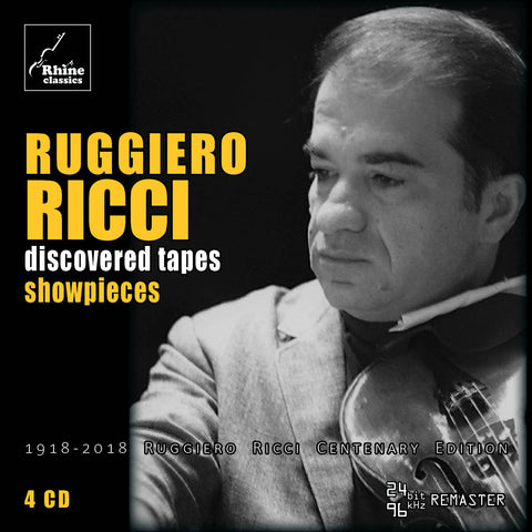 RH-012 | 4CD | Ruggiero Ricci Centenary Edition -2-