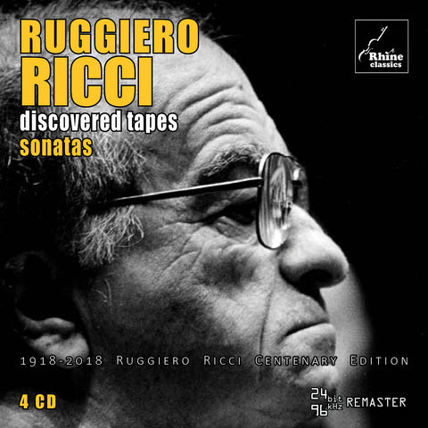 RH-013 | 4CD | Ruggiero Ricci Centenary Edition -3-