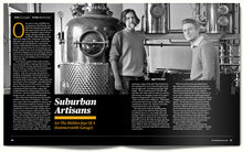 Spread from our feature on Sipsmith Distillery