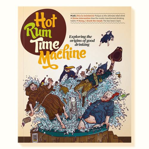 Cover of the Time Machine Issue of Hot Rum Cow