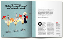 Illustrated feature about the margarita cocktail