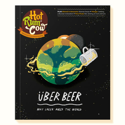 Cover of the Lager Issue of Hot Rum Cow