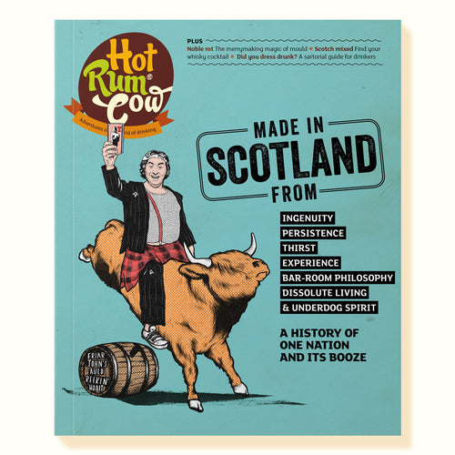 Cover of the Scotland Issue of Hot Rum Cow