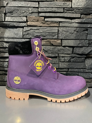 Timberland men 6 inch purple boot