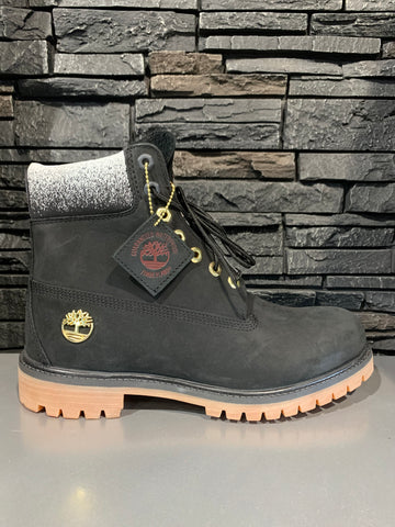 Timberland men 6 inch black boot