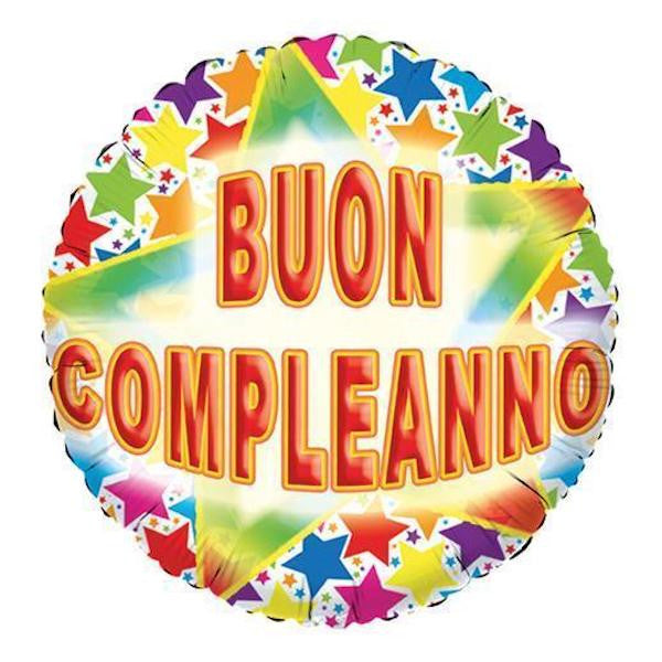 baloon buon compleanno