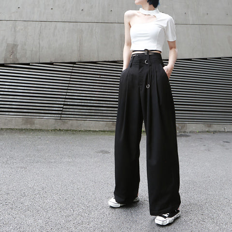 MILLION HIGH WAIST TROUSERS