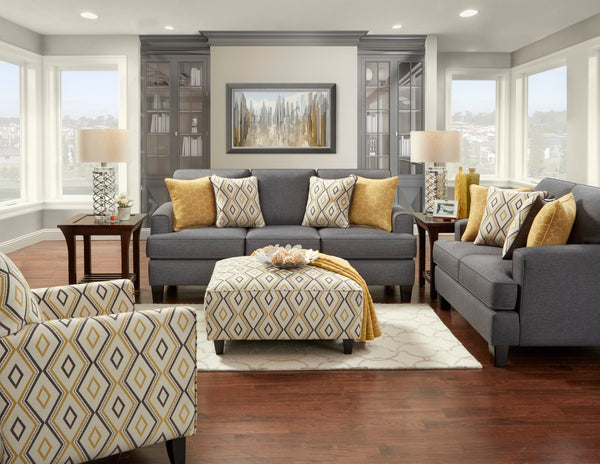 Maxwell Gray Sofa Group
