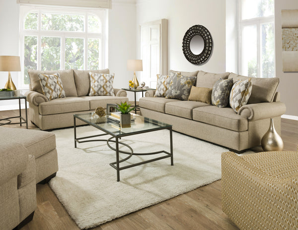 Azure Wheat Sofa Group