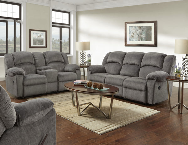 Kelly Gray Motion Sofa Group
