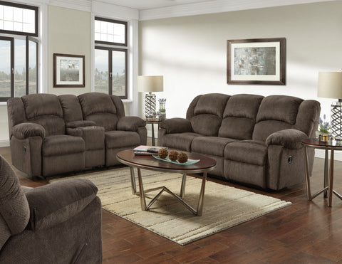 Kelly Chocolate Motion Sofa Group